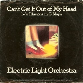 Electric Light Orchestra - Can't Get It Out Of My Head b/w Illusions In G Major