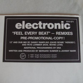 Electronic - Feel Every Beat
