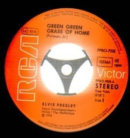 Elvis Presley - Green Green Grass Of Home / Make The World Go Away