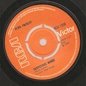 Elvis Presley - Suspicious Minds / You'll Think Of Me