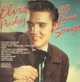 Elvis Presley - 20 Love Songs