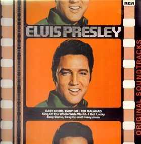 Elvis Presley - Easy Come, Easy Go / Kid Galahad
