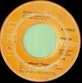 Elvis Presley - How Great Thou Art, HIs Hand In Mine