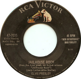 Elvis Presley - Jailhouse Rock / Treat Me Nice