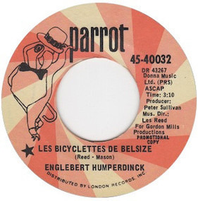 Engelbert Humperdinck - Les Bicyclettes De Belsize / Three Little Words