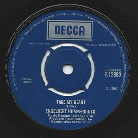 Engelbert Humperdinck - Take My Heart / Winter World Of Love