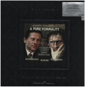 Ennio Morricone - A Pure Formality (O.S.T.) (ltd Clear Vinyl)