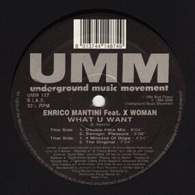 Enrico Mantini - What U Want