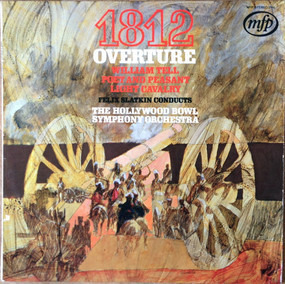 """Pyotr Ilyich Tchaikovsky - Overture solenelle """"1812"""" / Light Cavalry Overture / William Tell Overture a.o."""