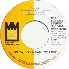 forest - Do Ya, Do Ya Want My Love