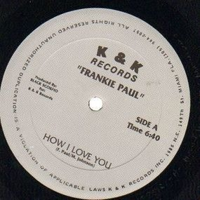 Frankie Paul - How I Love You