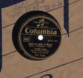 Frankie Laine - Love Is Such A Cheat/ Allentown Jail