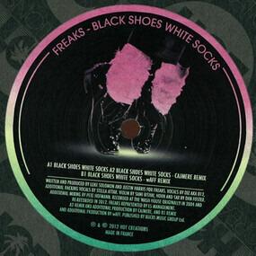 Freaks - Black Shoes White Socks