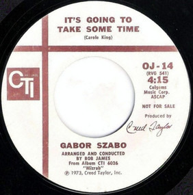 Gabor Szabo - It's Going To Take Some Time