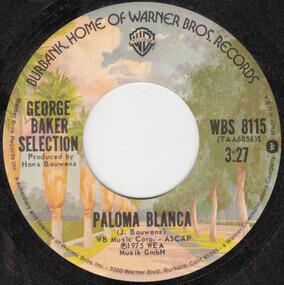 George Baker - Paloma Blanca / Dreamboat