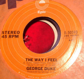 George Duke - Movin´On / The Way I Feel