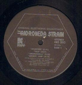 Gil Melle - The Andromeda Strain (Original Electronic Soundtrack)