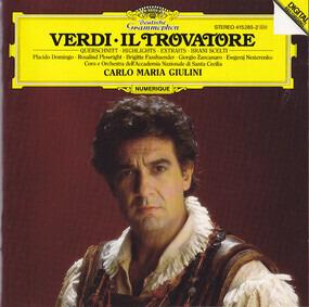 Giuseppe Verdi - Il Trovatore - Querschnitt (Giulini)