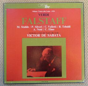 Giuseppe Verdi - Falstaff - Victor De Sabata , Orchestra Del Teatro Alla Scala