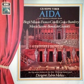 Giuseppe Verdi - Aida (Grosser Querschnitt In Italienischer Sprache)