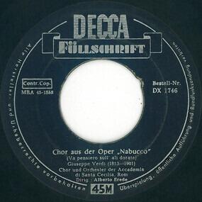 "Giuseppe Verdi - Chor Aus Der Oper ""Nabucco"" (Va Pensiero Sull' Ali Dorate)"
