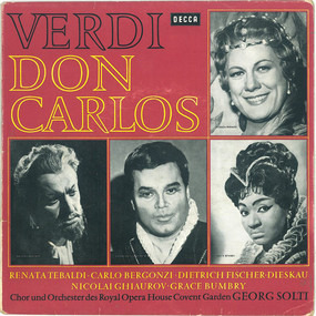 Giuseppe Verdi - Don Carlos / Johannes Passion