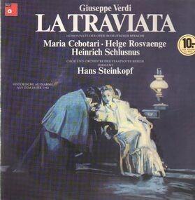 Giuseppe Verdi - La Traviata (Höhepunkte)