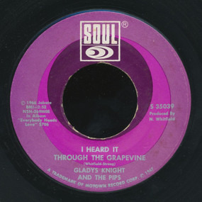 Gladys Knight & the Pips - I Heard It Through The Grapevine