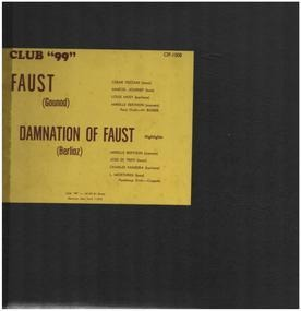 Charles Gounod - Faust, Damnation of Faust