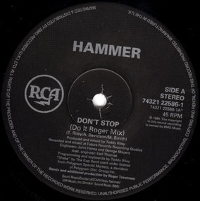 Hammer - Don't Stop