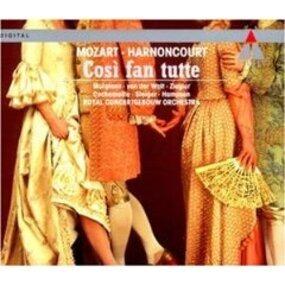 Wolfgang Amadeus Mozart - Cosi fan tutte (Gesamtaufnahme) (ital.)