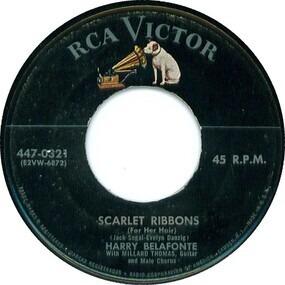 Harry Belafonte - Scarlet Ribbons (For Her Hair) / Shenandoah