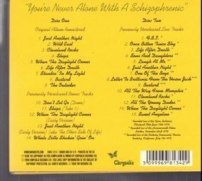 Ian Hunter - You're Never Alone With A Schizophrenic - 30 Anniversary Special Edition