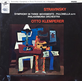 Igor Stravinsky - Symphony In Three Movements • Pulcinella Suite