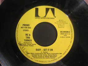 Ike & Tina Turner - Baby - Get It On