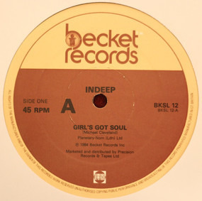 Indeep - Girl's Got Soul / The Night The Boy Learned How To Dance