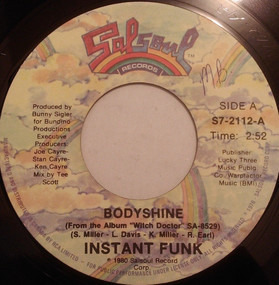 Instant Funk - Bodyshine
