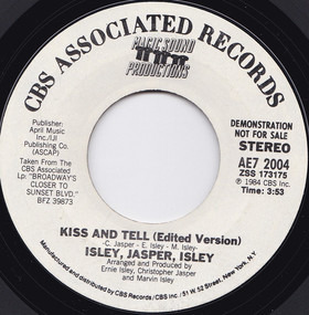 Isley/Jasper/Isley - Kiss And Tell (Edited Version)
