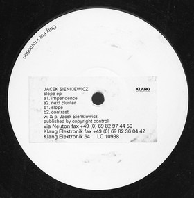 Jacek Sienkievicz - Slope EP