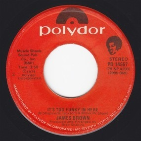 James Brown - It's Too Funky In Here / Are We Really Dancing