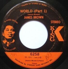 James Brown - World (Part 1 & 2)