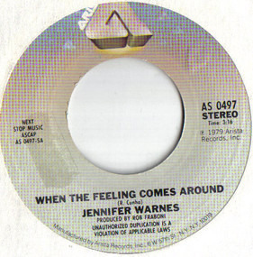 Jennifer Warnes - When The Feeling Comes Around