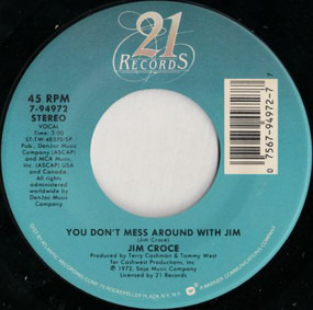 Jim Croce - You Don't Mess Around With Jim / Photographs And Memories