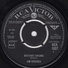 Jim Reeves - Distant Drums / Old Tige
