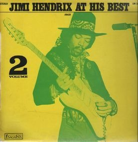 Jimi Hendrix - Jimi Hendrix At His Best Volume 2