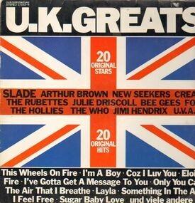 Jimi Hendrix - U.K. Greats