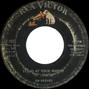 Jim Reeves - What Would You Do? / Stand At Your Window