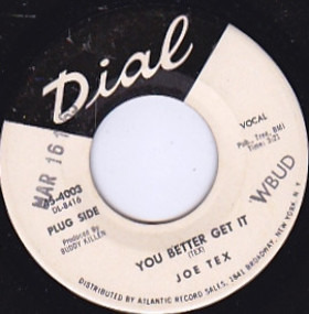 Joe Tex - You Better Get It