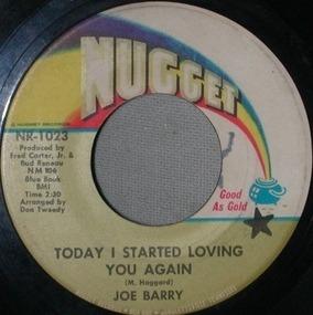 Joe Barry - Today I Started Loving You Again
