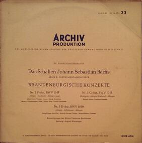Brandenburgische Konzerte - J. S. Bach | Vinyl, CD | Recordsale